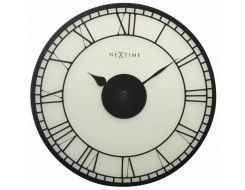 Wandklok Big Ben, frosted glass 43 cm